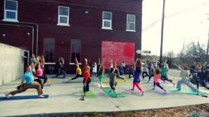 Yoga Flashmob