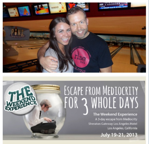 The Weekend Experience - Escape from mediocrity!